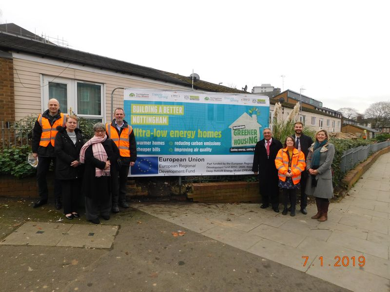 Erdf Beginning Of Works2 Cllr Longford Tenant Plus Nch Ncc Melius