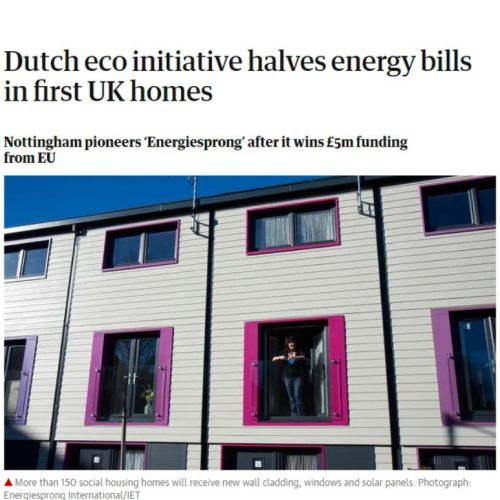 The Guardian: Dutch eco initiative halves energy bills